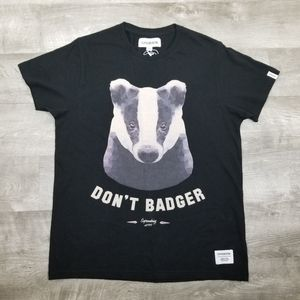 Urban outfitters supreme being don't badger tee